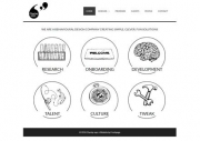 Behavioural Design Company Website Design