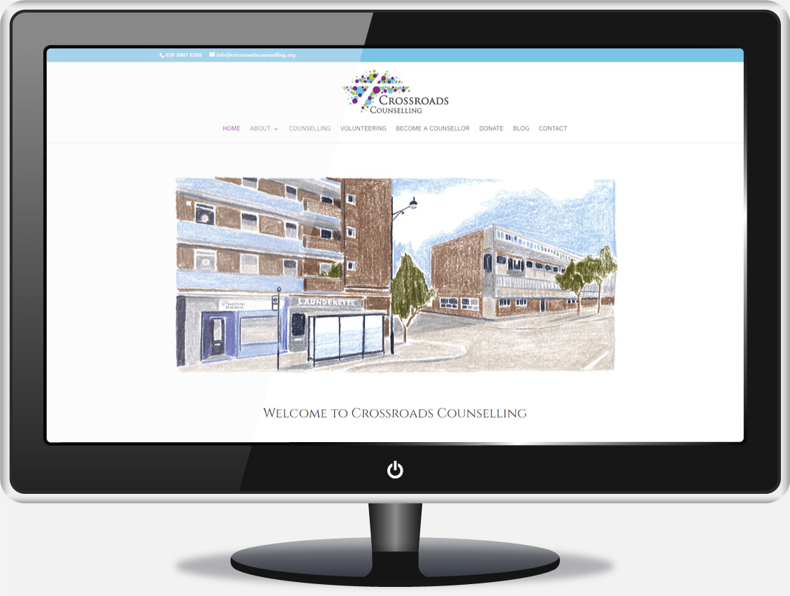 Counselling Website Design - Crossroads Counselling